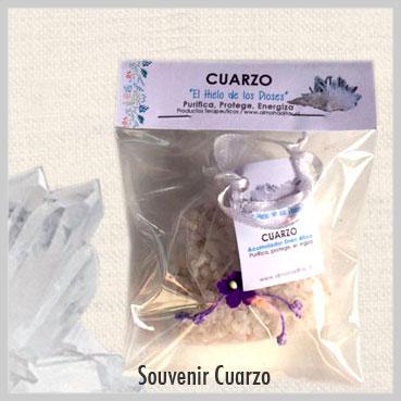 souvenir de cuarzo